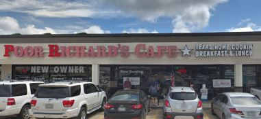 poor richards cafe front shot